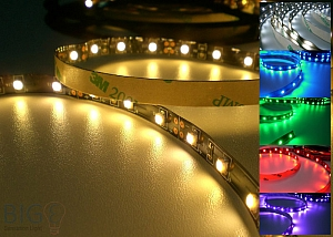 LED Stripes IP20 60 LED / Meter - 5 Meter Rolle