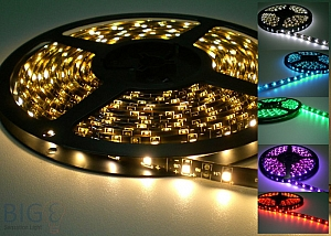 LED Stripes IP65 60 LED / Meter - 5 Meter Rolle