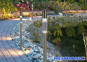 Heitronic Solar LED Leuchte Tom 3er Set 36247