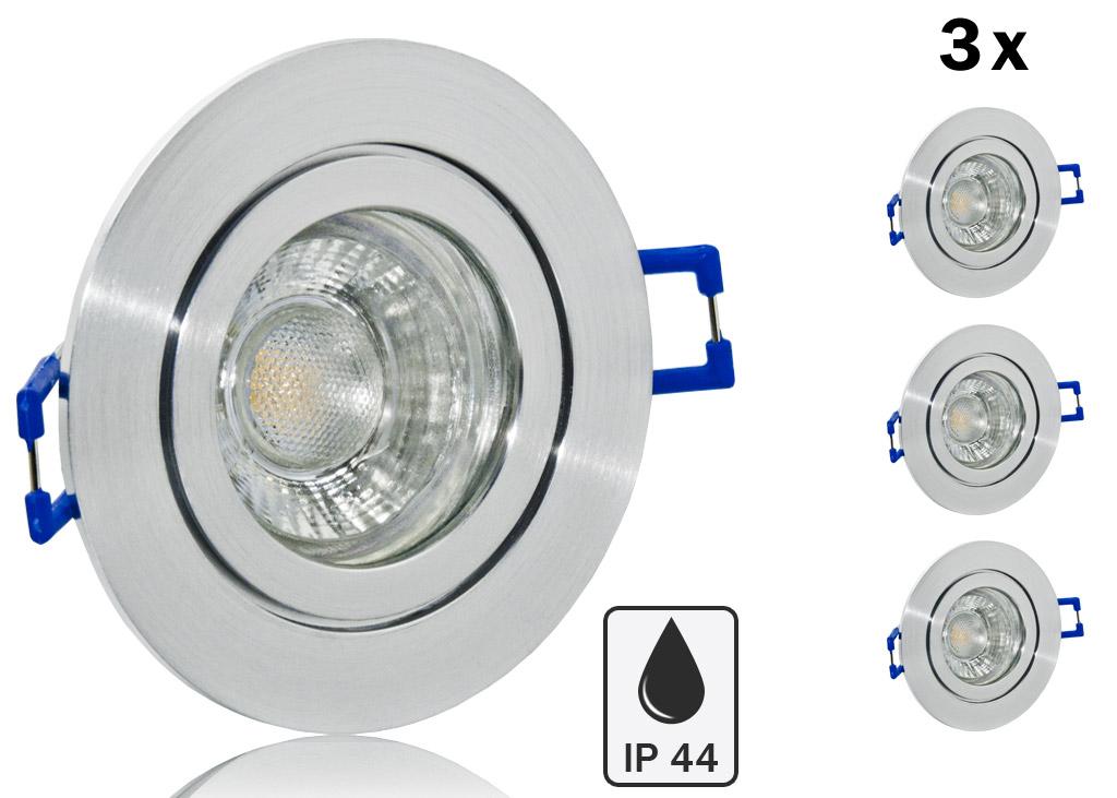Feuchtraum Einbaurahmen Einbaustrahler Ip44 Gu10 Mr16 ø 83mm