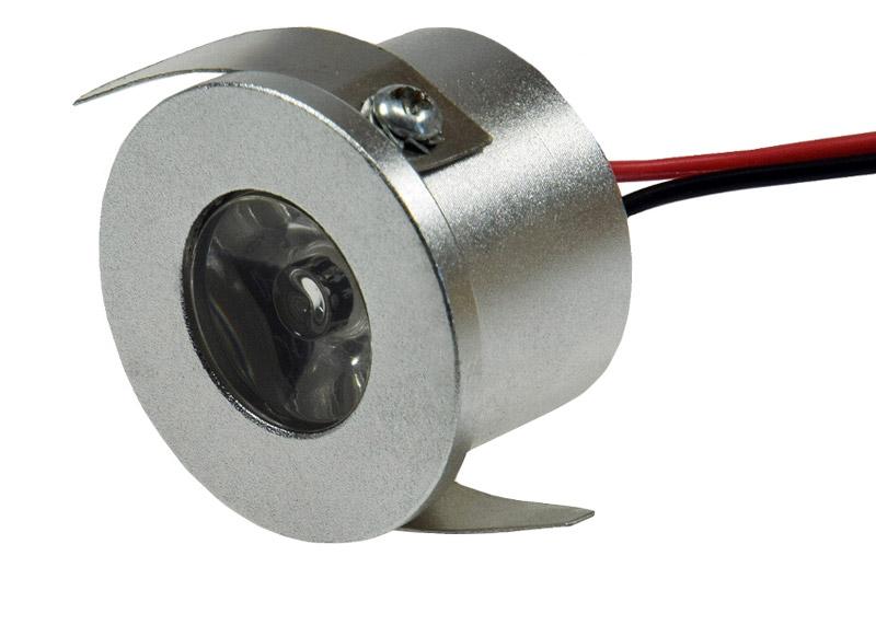 Top Power LED Einbaustrahler Chilitec rund mini 1 Watt WO85
