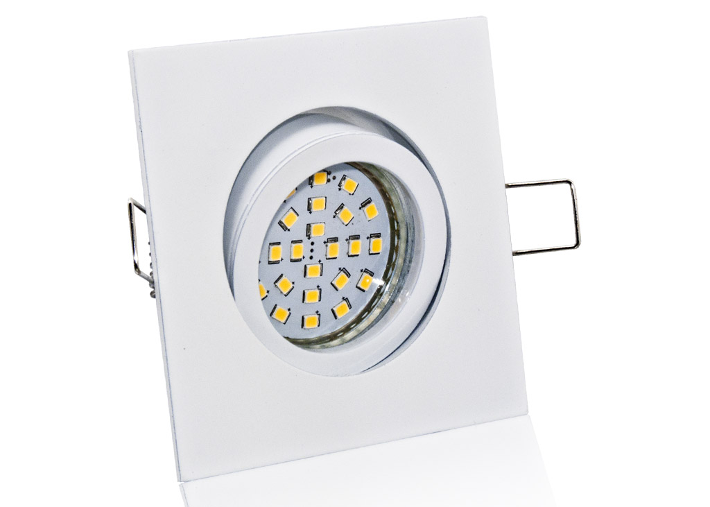 led spots eckig