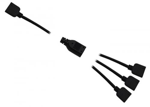 12V RGB Kabel Verteilung 1 auf 3