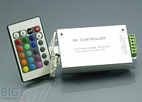 LED Stripes RGB Controller mit IR Fernbedienung
