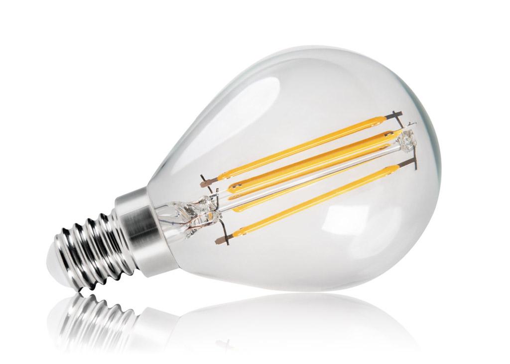 KANLUX Filament LED-Leuchtmittel XLED G45 E14 4,5 Watt