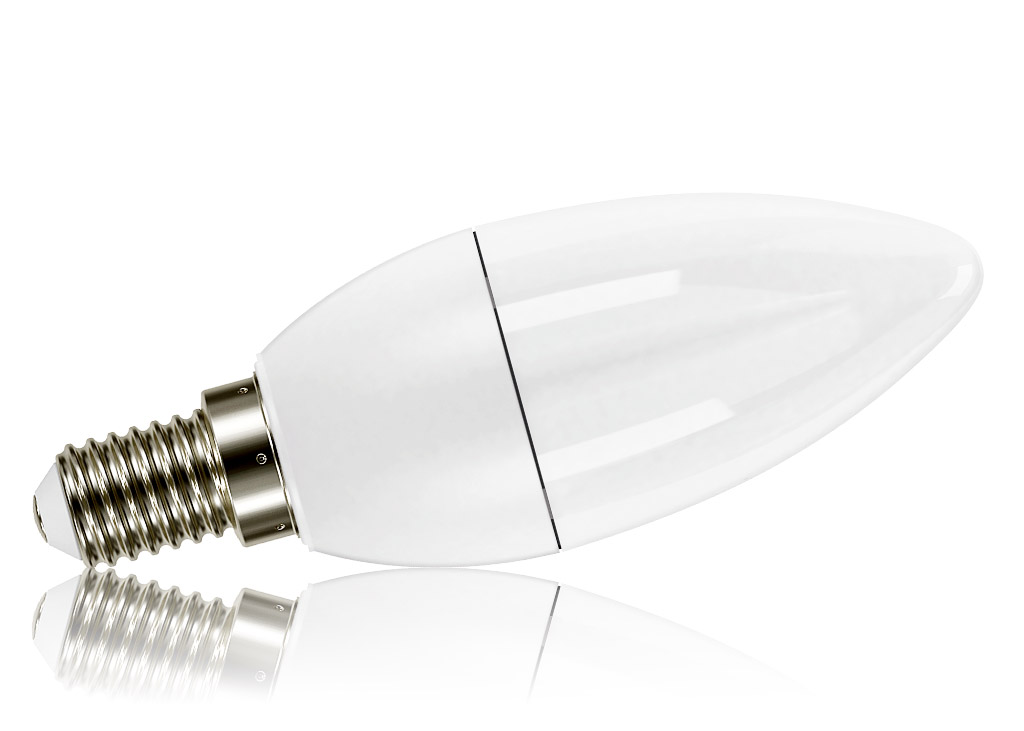 Kanlux Premium IQ E14 SMD LED Birne 7.5 Watt C37