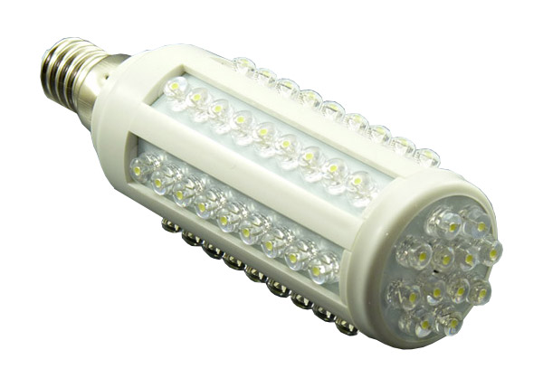 E14 LED-Lampe mit klassischen LEDs (dips)