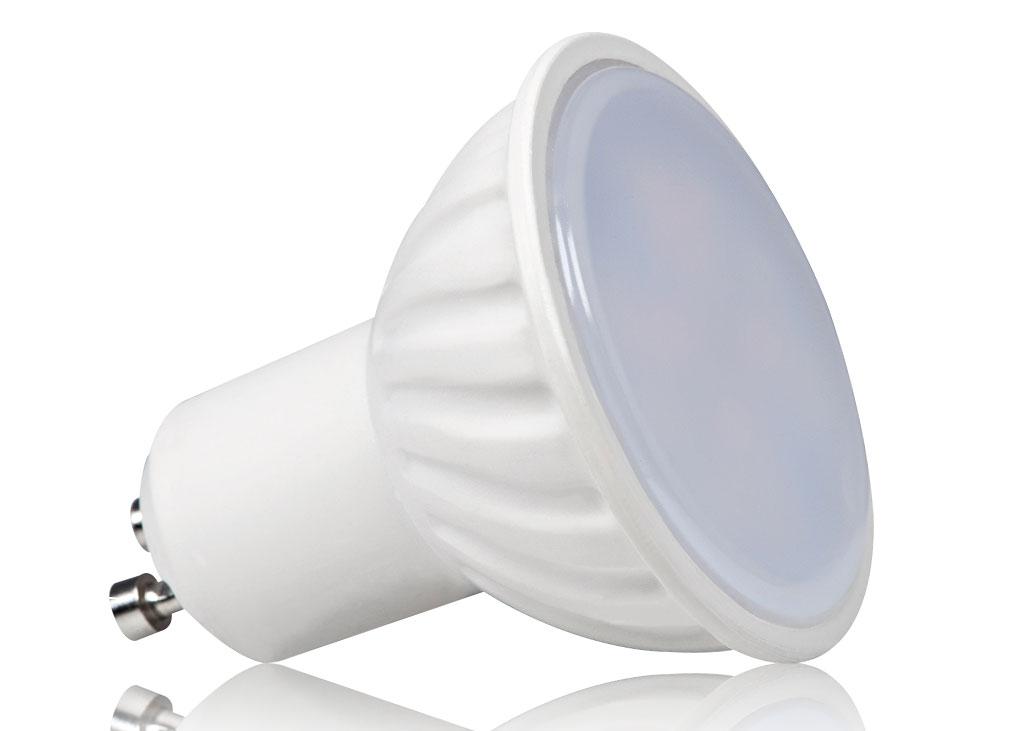 LED Leuchtmittel mit Milchglasabdeckung