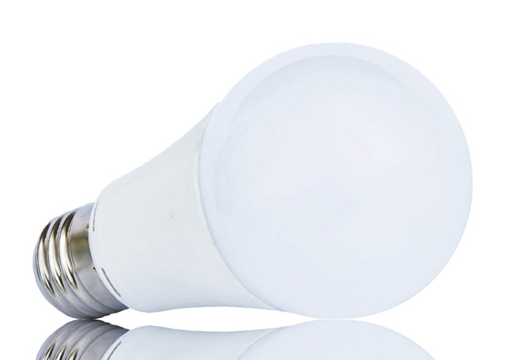 A60 E27 LED Leuchtmittel mit 60mm Kopfdurchmesser